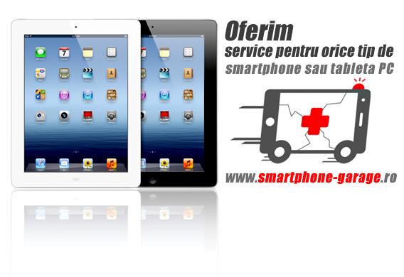 Service profesionist tableta